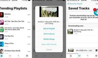 music pocket featured 400x240 - Music Pocket: Tải nhạc YouTube, nghe khi tắt màn hình cho iPhone
