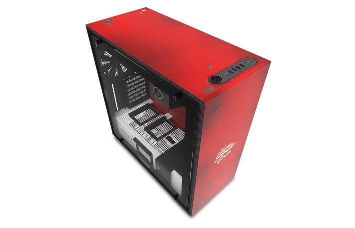 """nzxt fallout h700 nuka cola pc case screen 3 - H700 Nuka-Cola - case máy tính """"chất lừ"""" mang chủ đề Fallout từ NZXT"""