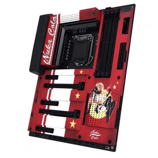 """nzxt fallout h700 nuka cola pc case screen 4 600x600 - H700 Nuka-Cola - case máy tính """"chất lừ"""" mang chủ đề Fallout từ NZXT"""