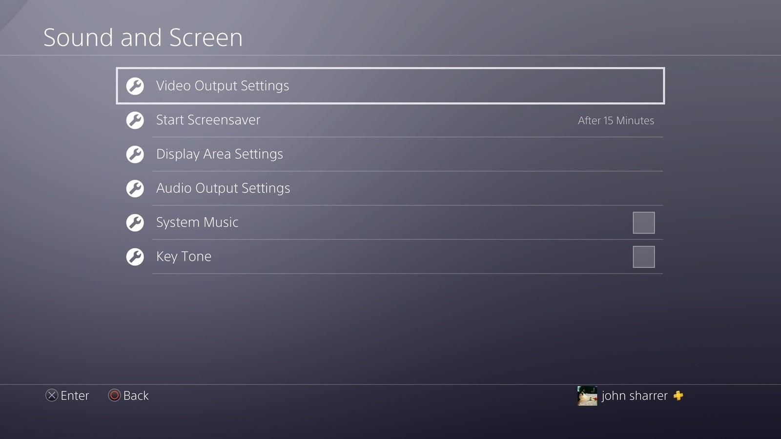 Cách bật chế độ 4K trên Playstation 4 Pro 1