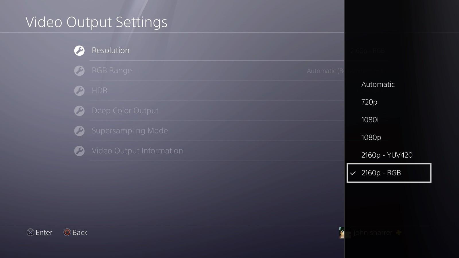 Cách bật chế độ 4K trên Playstation 4 Pro 2