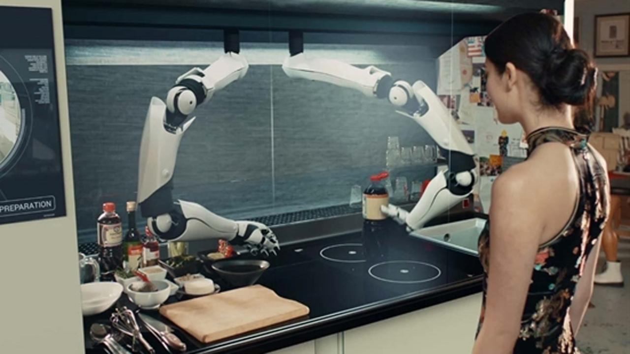 robot moley 710427 - Khi robot vào bếp (P1)
