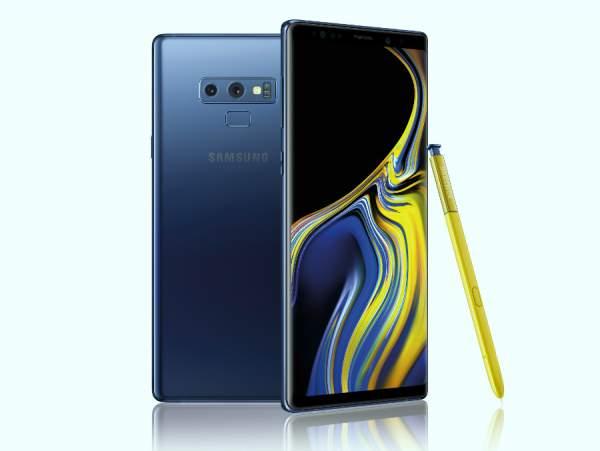 samsung galaxy note 9 blue 600x451 - Samsung Galaxy Note 9 ra mắt: Cấu hình, thiết kế không lệch tin đồn
