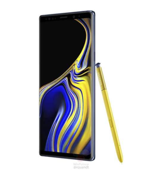 samsung galaxy note 9 featured 545x600 - Galaxy Note 9 lộ hình ảnh, giá bán trước giờ G