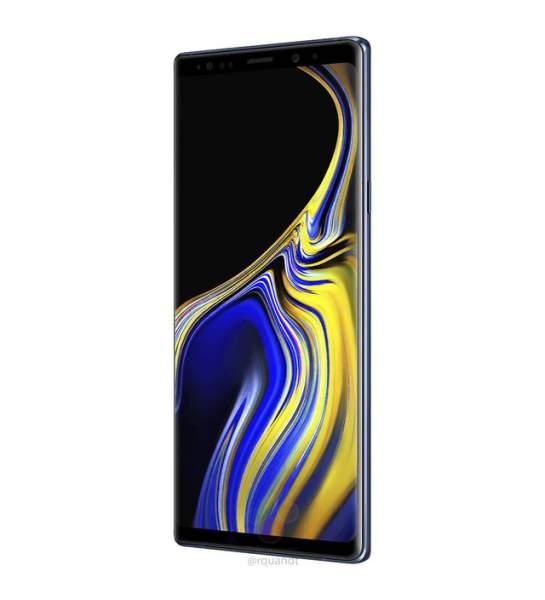 samsung galaxy note 9 specs 545x600 - Galaxy Note 9 lộ hình ảnh, giá bán trước giờ G