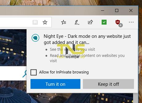 2018 09 08 16 01 13 - Night Eye: Tiện ích mở rộng chống mỏi mắt khi lướt web đêm