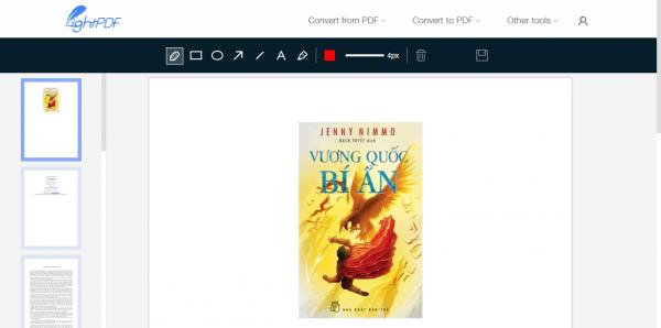 LightPDF: Chỉnh sửa, trích xuất văn bản trong PDF 13