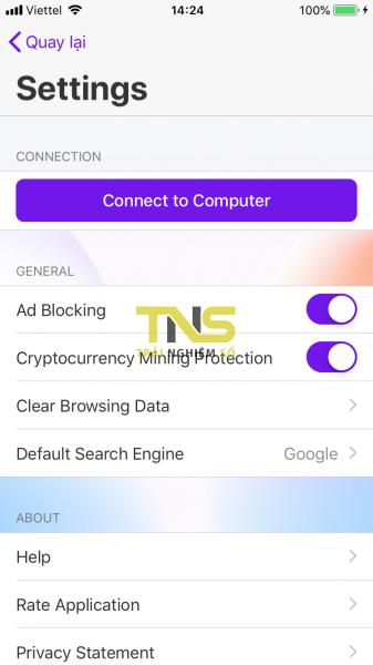 IMG 1076 337x600 - Trải nghiệm Opera Touch trên iPhone