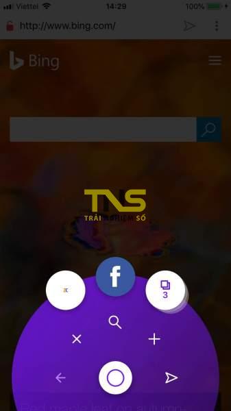 IMG 1080 337x600 - Trải nghiệm Opera Touch trên iPhone