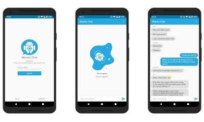 Nearby Chat 400x240 - Nearby Chat: Trò chuyện với thiết bị Android cùng mạng Wi-Fi