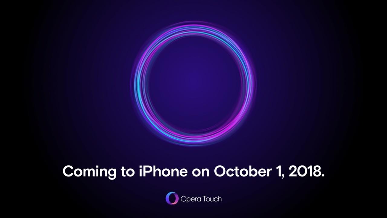 Opera Touch cho iPhone - Trải nghiệm Opera Touch trên iPhone