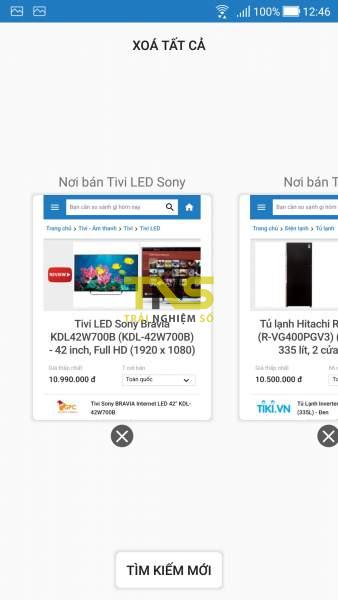 So sánh giá với Websosanh bằng ứng dụng Android 3
