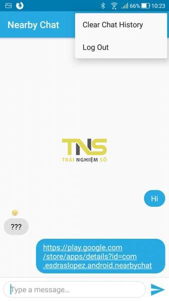 Nearby Chat: Trò chuyện với thiết bị Android cùng mạng Wi-Fi 3