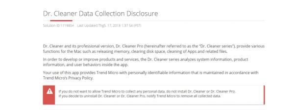 Trend Micro warning 1 600x225 - Trend Micro nói gì về việc ứng dụng tạm đóng trên App Store?