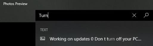 Windows 10 Photos with OCR support - Windows 10 sắp bổ sung tính năng tìm nội dung trong ảnh