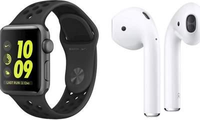 apple watch nike airpods 800x459 400x240 - Apple Watch, AirPods không tăng giá bởi chiến tranh thương mại