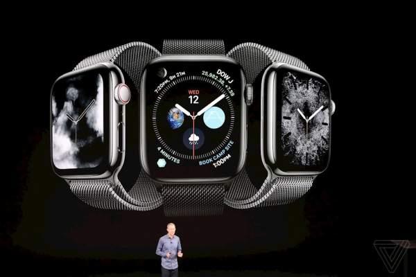 apple watch series 4 600x400 - Watch Series 4 ra mắt, pin 18 tiếng, giá từ 399 USD