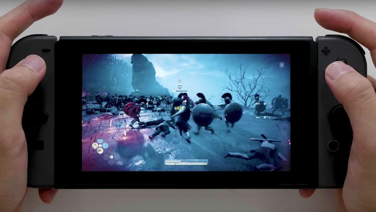 "assassins creed odyssey nintendo switch cloud featured - Assassin's Creed Odyssey sẽ được ""lên mây"" trên Nintendo Switch"