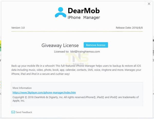 Đang miễn phí ứng dụng quản lý iPhone trị giá 65USD 3