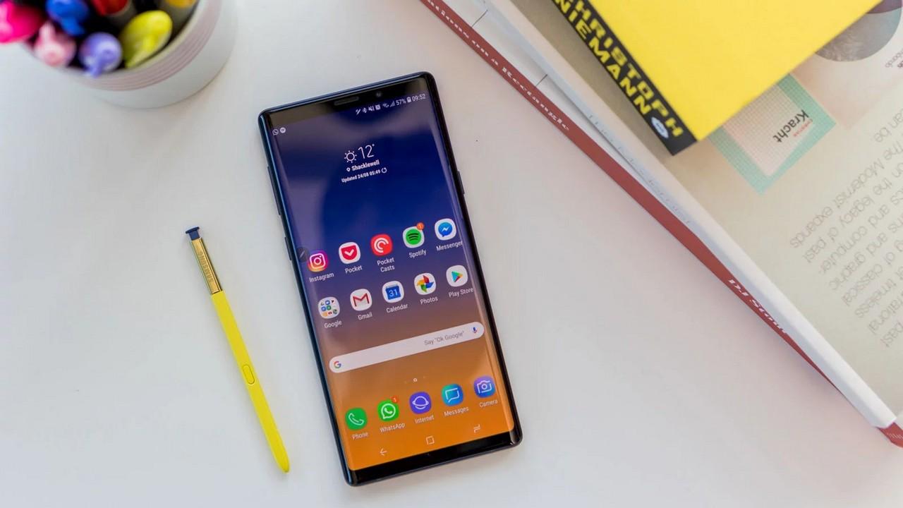 Cách bật Developer Options trên Samsung Galaxy Note 9