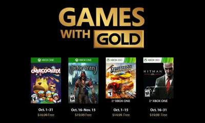 Games with Gold tháng 10/2018