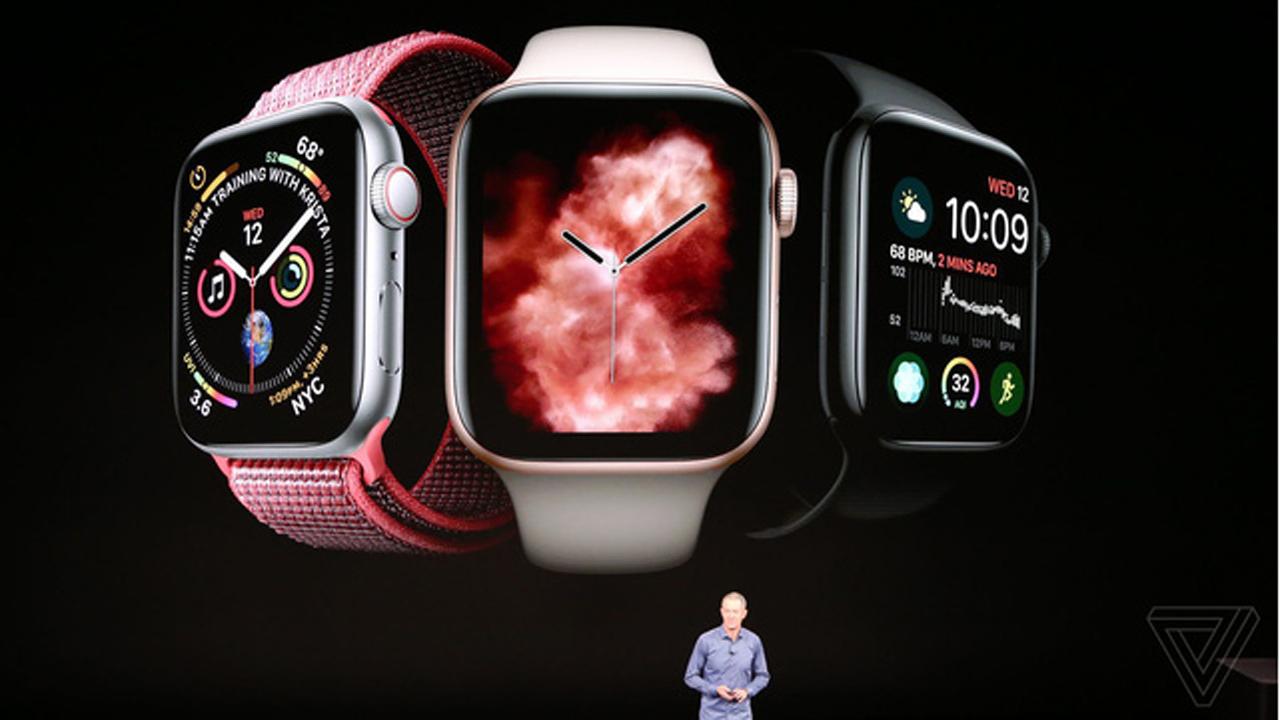 gia apple watch series 4 - Watch Series 4 ra mắt, pin 18 tiếng, giá từ 399 USD