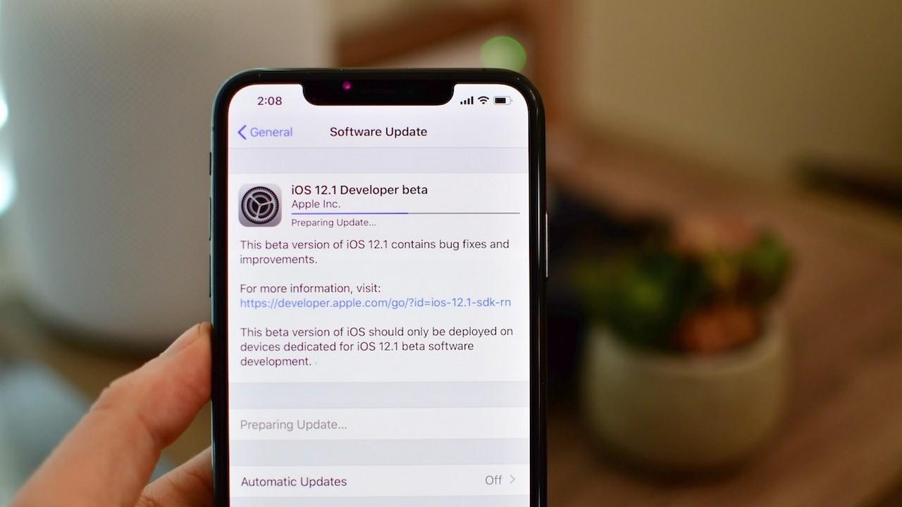 Đã có iOS 12.1 beta cho iPhone XS và iPhone XS Max