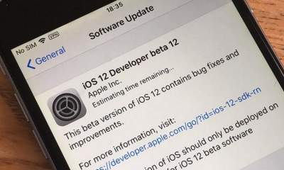 iOS 12 developer beta 12