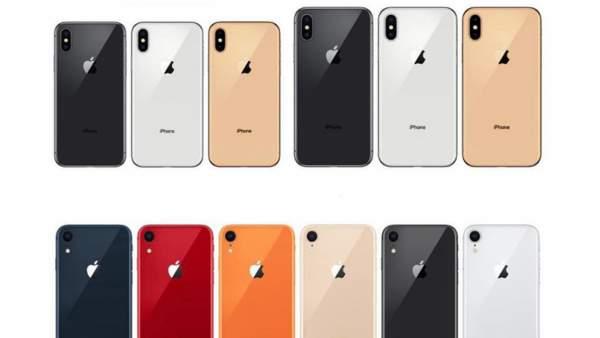 maumay2 600x338 - iPhone Xr mới là tên gọi của iPhone màn hình LCD, có 6 màu