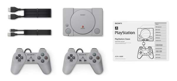 playstation classic mini set 600x275 - Sony giới thiệu PlayStation Classic - phiên bản mini của máy chơi game PS1