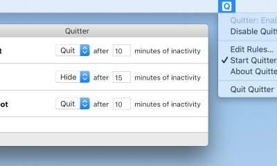 quitter mac featured 400x240 - Cách tự thoát các ứng dụng sau một thời gian không dùng máy MAC