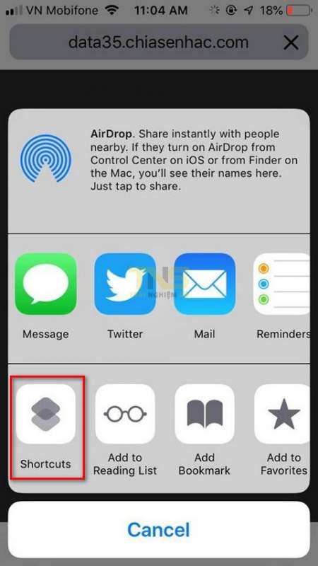 siri shortcuts download file 4 450x800 - iOS 12: Cách tải file bằng Siri Shortcuts