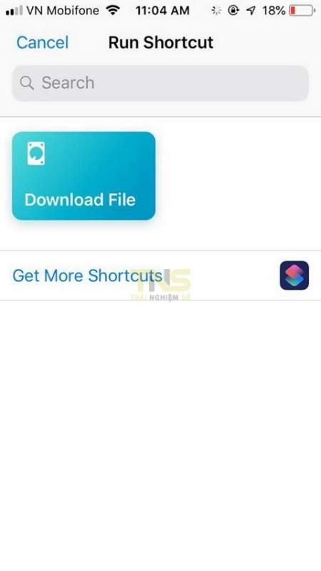 siri shortcuts download file 5 450x800 - iOS 12: Cách tải file bằng Siri Shortcuts