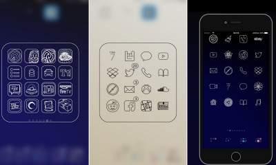stencil mono featured 400x240 - 5 theme đẹp cho iOS ra mắt trong tuần, mời bạn tải về