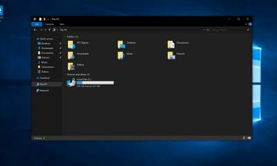 windows 10 dark mode featured 400x240 - Cách bật Dark mode trên Windows 10 October update