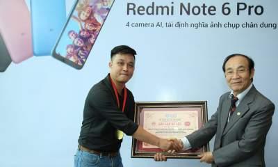 181013 Xiaomi Ky luc Xiaomi cung Redmi Note 6 Pro 34 400x240 - Xiaomi lập kỷ lục mới: chụp 133 ảnh selfie trong 3 phút với Redmi Note 6 Pro