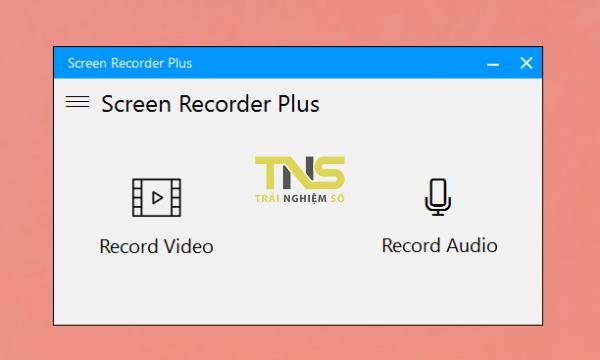 Screen Recorder Plus: Ghi âm, quay video màn hình trên Windows 10 1