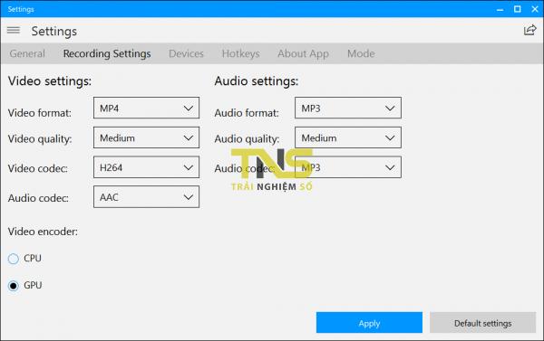 Screen Recorder Plus: Ghi âm, quay video màn hình trên Windows 10 2
