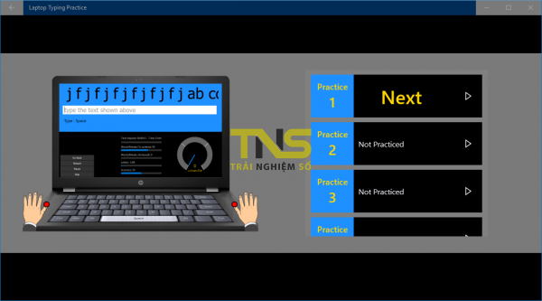 2018 10 23 14 26 49 600x333 - Tổng hợp ứng dụng UWP giúp luyện đánh máy nhanh trên Windows 10