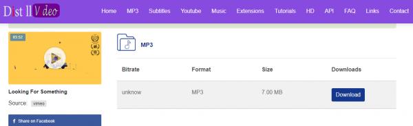 Tổng hợp 17 trang web thay thế KeepVid để tải nhạc, video YouTube 29