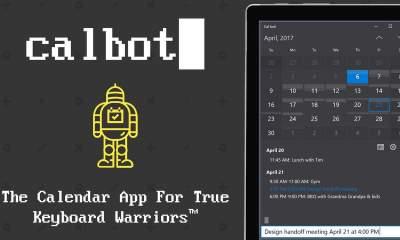 Calbot featured 400x240 - Calbot: Lên lịch, kiểm tra sự kiện trên Windows 10