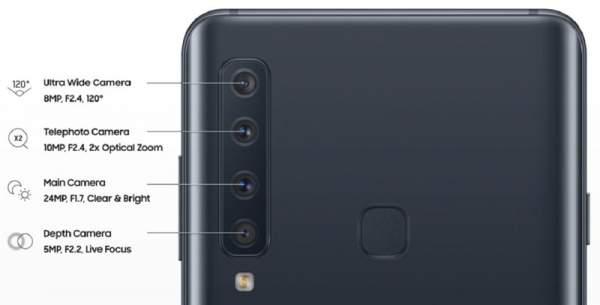 Galaxy A9 1 600x305 - Galaxy A9 - Điện thoại 4 camera cho trải nghiệm phong phú hơn
