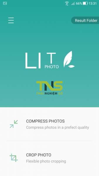 Nén ảnh siêu nhanh trên Android với Photo Compress 1