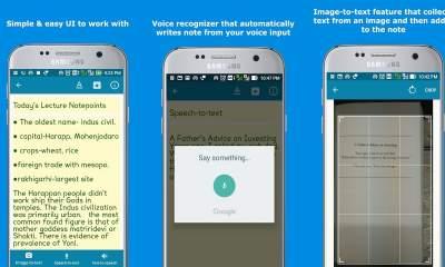 SmartyNote Notepad featured 400x240 - SmartyNote Notepad: Soạn ghi chú trên Android bằng giọng nói, trích xuất văn bản