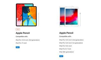 apple pencil compatible featured 400x240 - Apple Pencil cũ không tương thích với iPad Pro mới và ngược lại