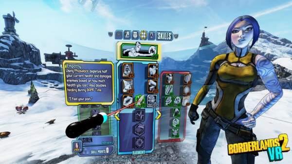 borderlands 2 vr skills gui 600x338 - Borderlands 2 VR được công bố cho PlayStation VR