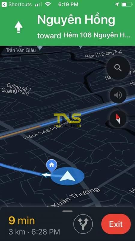 cay xang gan nhat 2 450x800 - Tìm cây xăng gần nhất với Siri Shortcuts