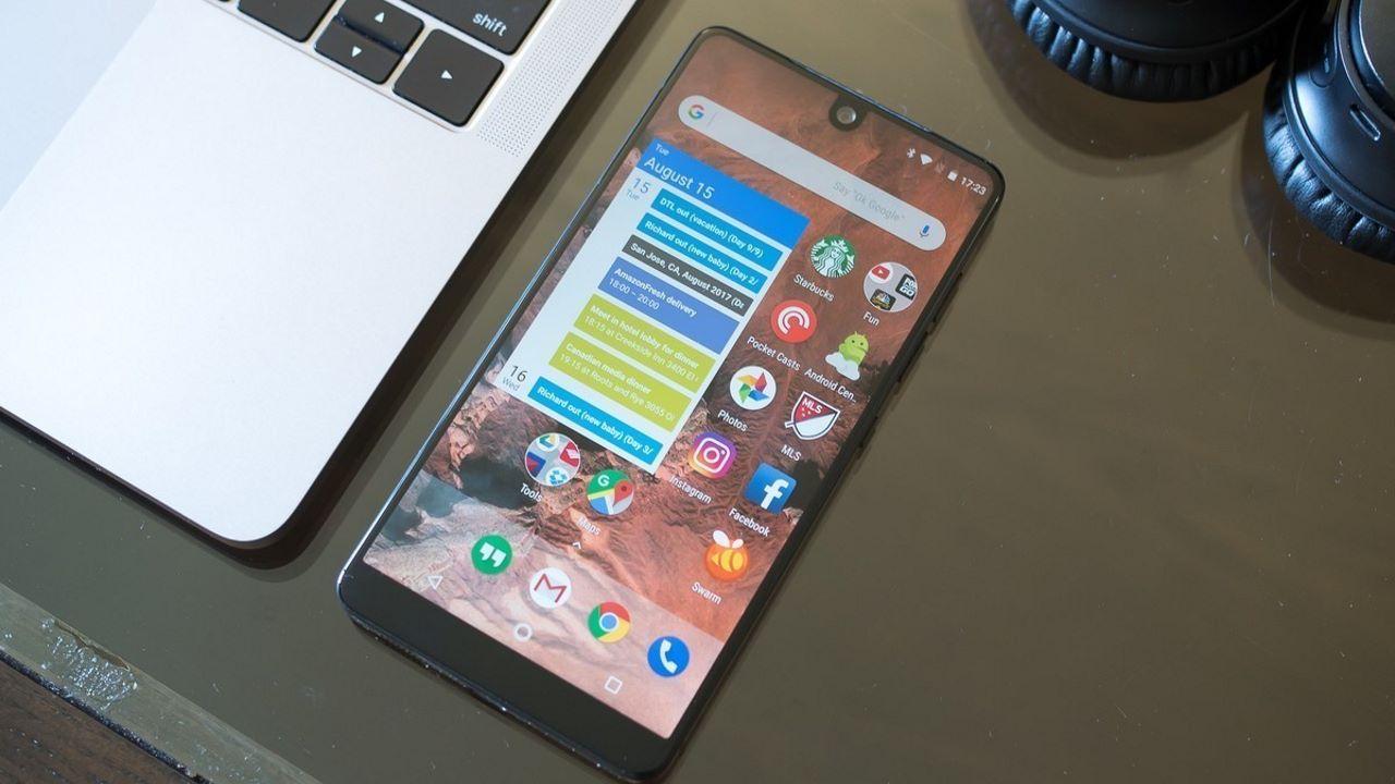 """essential phone featured - Công ty Essential của """"cha đẻ"""" hệ điều hành Android đang phát triển điện thoại AI?"""