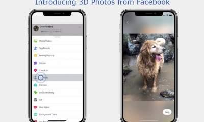 facebook 3d photo featured 400x240 - Cách tạo và đăng hình ảnh 3D lên Facebook bằng iPhone