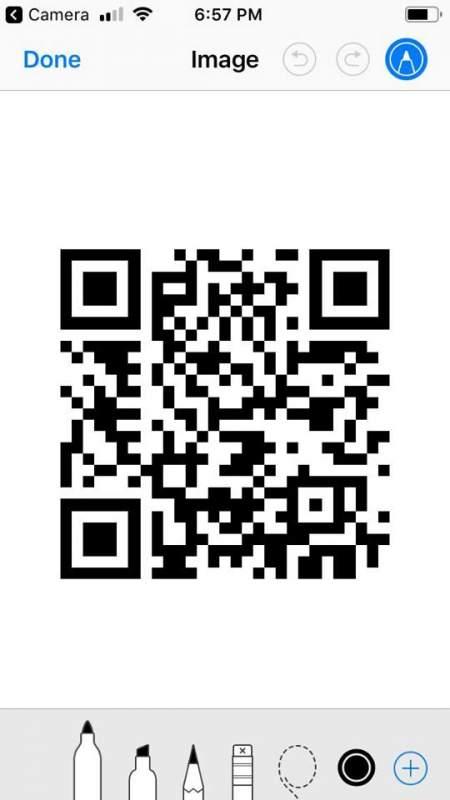 hotspot siri shortcut 3 450x800 - Tạo nhanh một QR code chia sẻ Wi-Fi bằng Siri Shortcuts